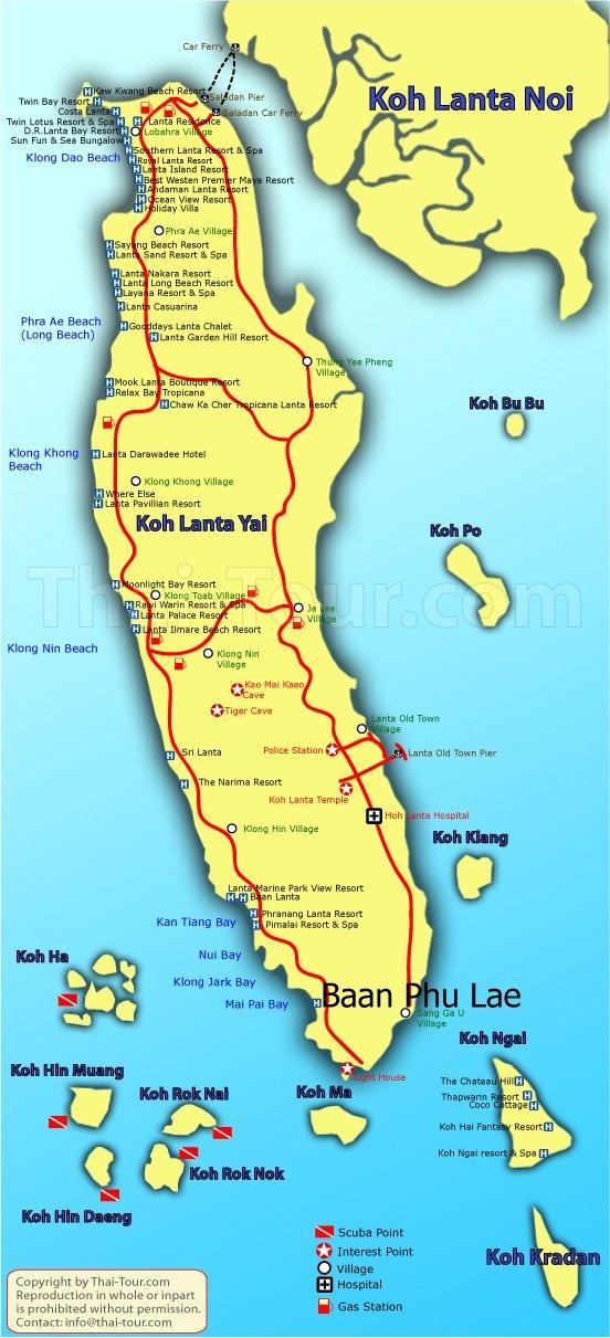 BAAN PHU LAE  - Map